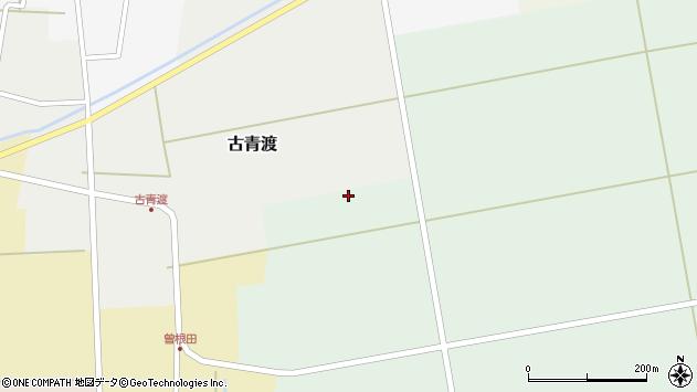 山形県酒田市関赤沼周辺の地図