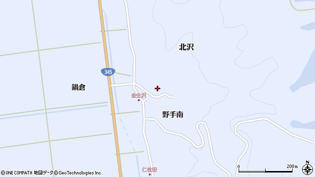 山形県酒田市北沢野手南98周辺の地図
