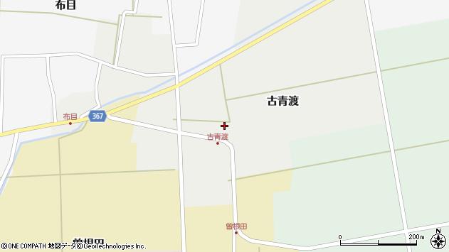 山形県酒田市古青渡古青渡96周辺の地図