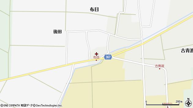 山形県酒田市古青渡古青渡58周辺の地図
