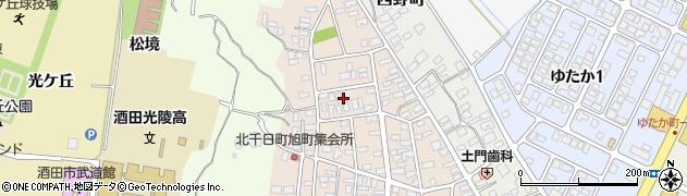 山形県酒田市北千日町22周辺の地図