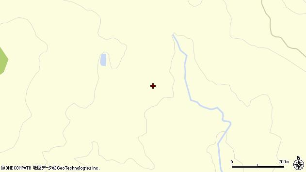 山形県酒田市北俣土沢周辺の地図