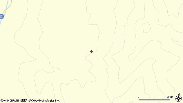山形県酒田市北俣大師石周辺の地図