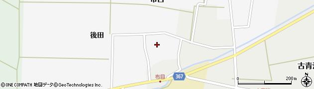 山形県酒田市布目後田12周辺の地図
