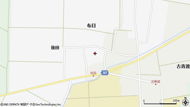 山形県酒田市布目後田13周辺の地図