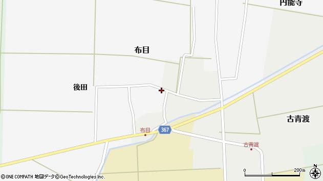 山形県酒田市布目後田16周辺の地図