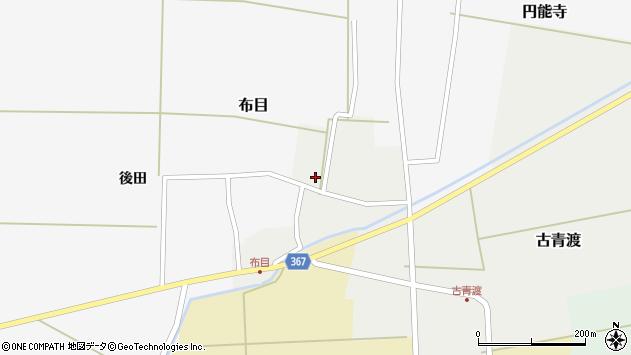 山形県酒田市古青渡周辺の地図