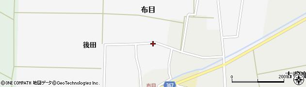 山形県酒田市布目後田18周辺の地図