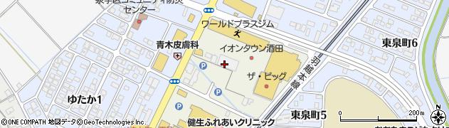 山形県酒田市泉町213周辺の地図