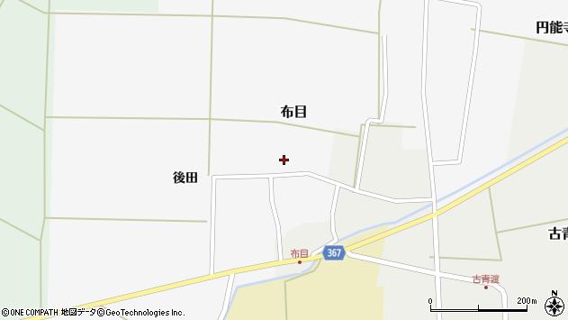 山形県酒田市布目後田115周辺の地図