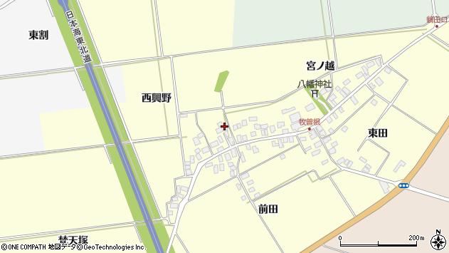 山形県酒田市牧曽根西興野6周辺の地図