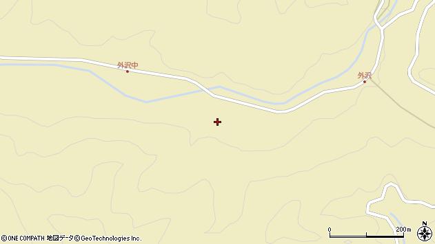 山形県最上郡金山町中田28周辺の地図