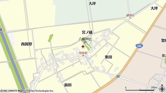 山形県酒田市牧曽根宮ノ越95周辺の地図