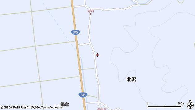 山形県酒田市北沢鍋倉10周辺の地図
