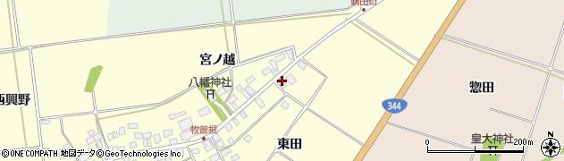 山形県酒田市牧曽根大坪14周辺の地図