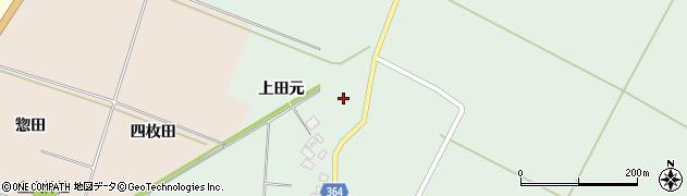 山形県酒田市漆曽根腰廻164周辺の地図