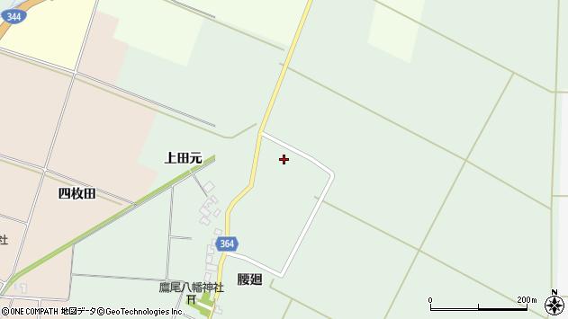 山形県酒田市漆曽根上田元15周辺の地図
