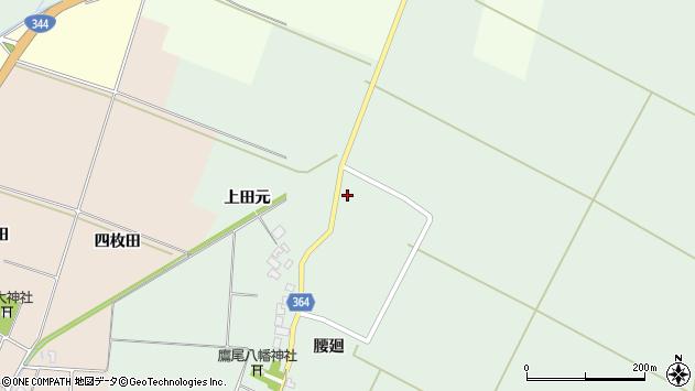 山形県酒田市漆曽根上田元18周辺の地図