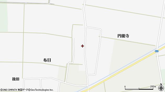 山形県酒田市円能寺村西38周辺の地図