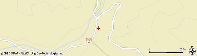 山形県最上郡金山町中田19周辺の地図