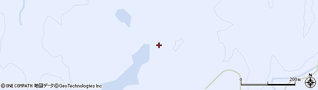 山形県酒田市北沢通越周辺の地図