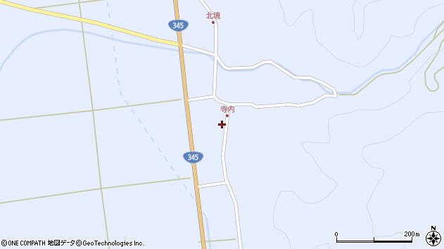 山形県酒田市北沢鍋倉131周辺の地図