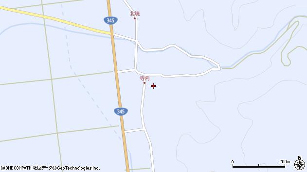 山形県酒田市北沢鍋倉42周辺の地図
