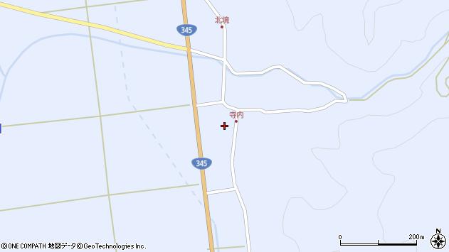 山形県酒田市北沢鍋倉126周辺の地図