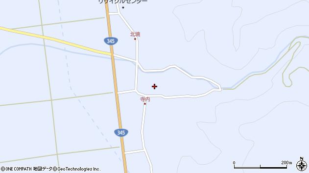 山形県酒田市北沢鍋倉106周辺の地図