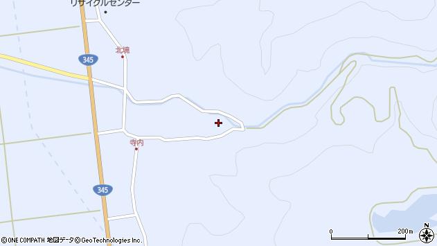 山形県酒田市北沢鍋倉90周辺の地図