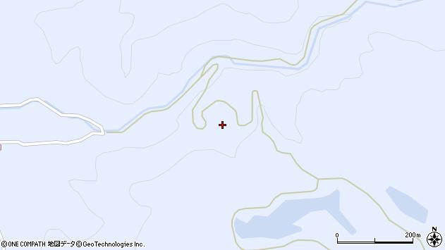 山形県酒田市北沢赤坂周辺の地図