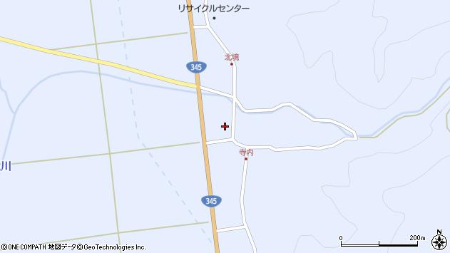 山形県酒田市北沢新川作6周辺の地図