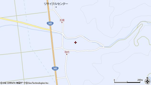山形県酒田市北沢鍋倉103周辺の地図