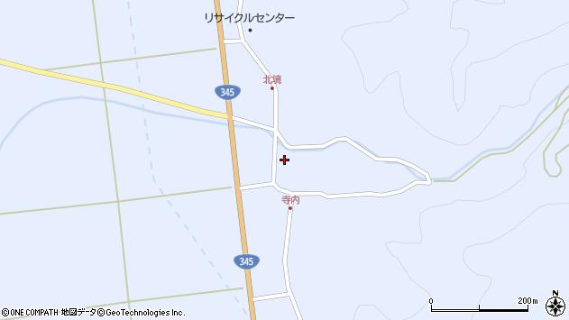 山形県酒田市北沢鍋倉112周辺の地図
