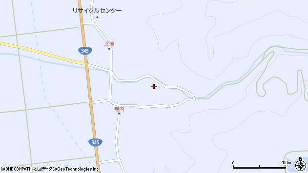 山形県酒田市北沢鍋倉99周辺の地図