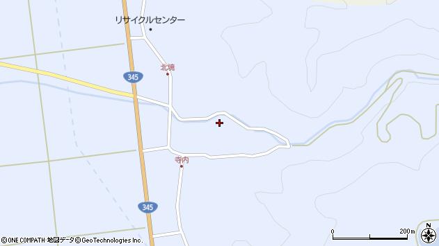 山形県酒田市北沢鍋倉102周辺の地図