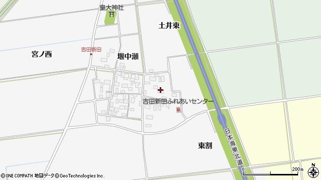 山形県酒田市吉田新田土井東7周辺の地図