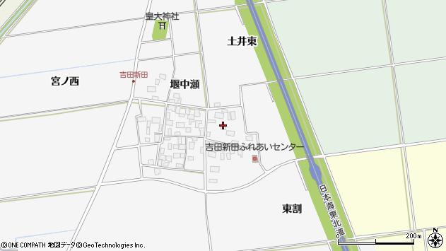 山形県酒田市吉田新田土井東9周辺の地図