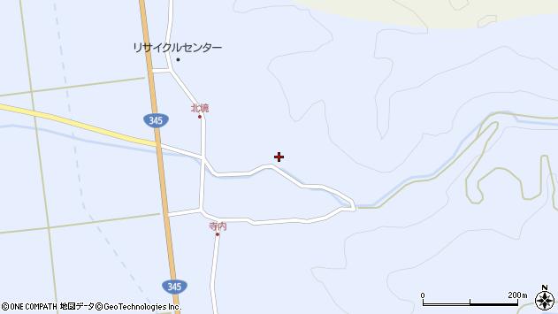 山形県酒田市北沢長面8周辺の地図