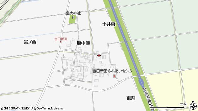 山形県酒田市吉田新田土井東10周辺の地図