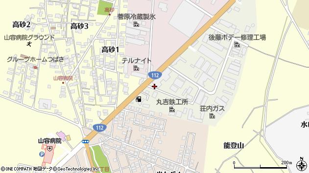 山形県酒田市松美町2周辺の地図