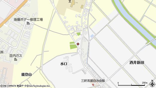 山形県酒田市酒井新田水口84周辺の地図