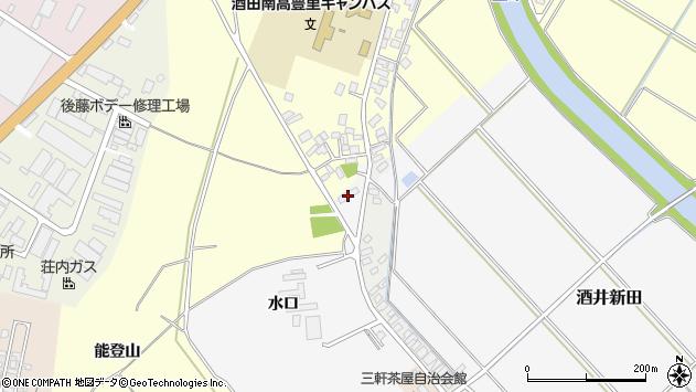 山形県酒田市酒井新田水口83周辺の地図