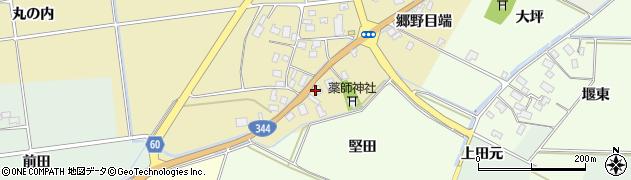 山形県酒田市上野曽根郷野目端70周辺の地図