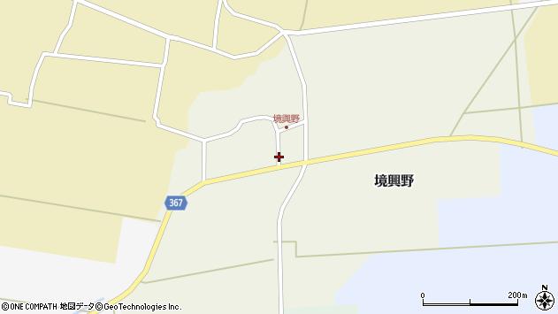 山形県酒田市境興野家ノ東61周辺の地図