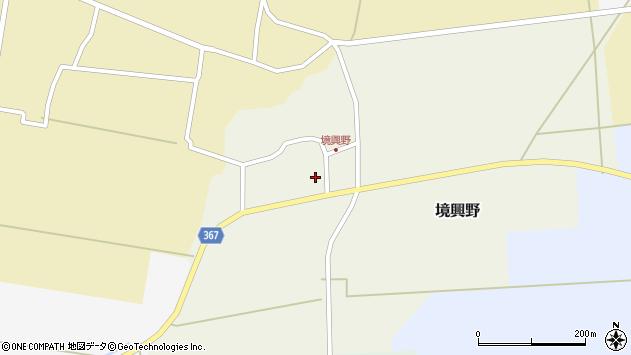 山形県酒田市境興野中ノ坪31周辺の地図