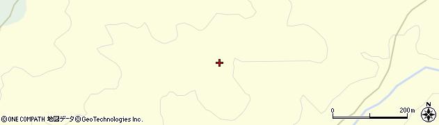 山形県酒田市北俣桂沢周辺の地図