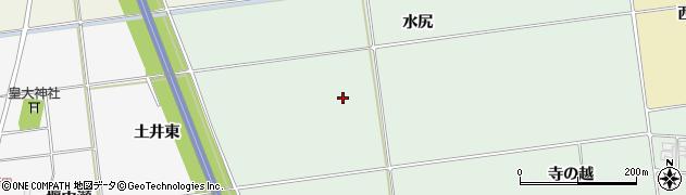 山形県酒田市鶴田水尻周辺の地図