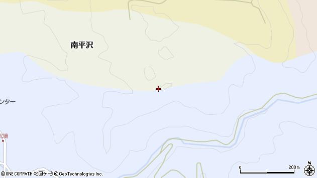 山形県酒田市北沢北岩の上周辺の地図