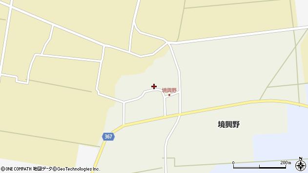 山形県酒田市境興野中ノ坪108周辺の地図
